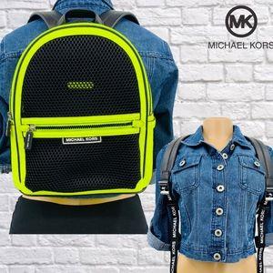 NWT Michael Kors Danika Neon Mesh Backpack